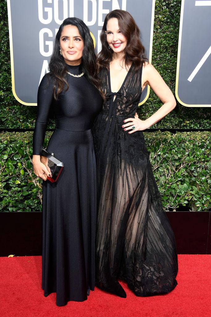 Salma Hayek and Ashley Judd