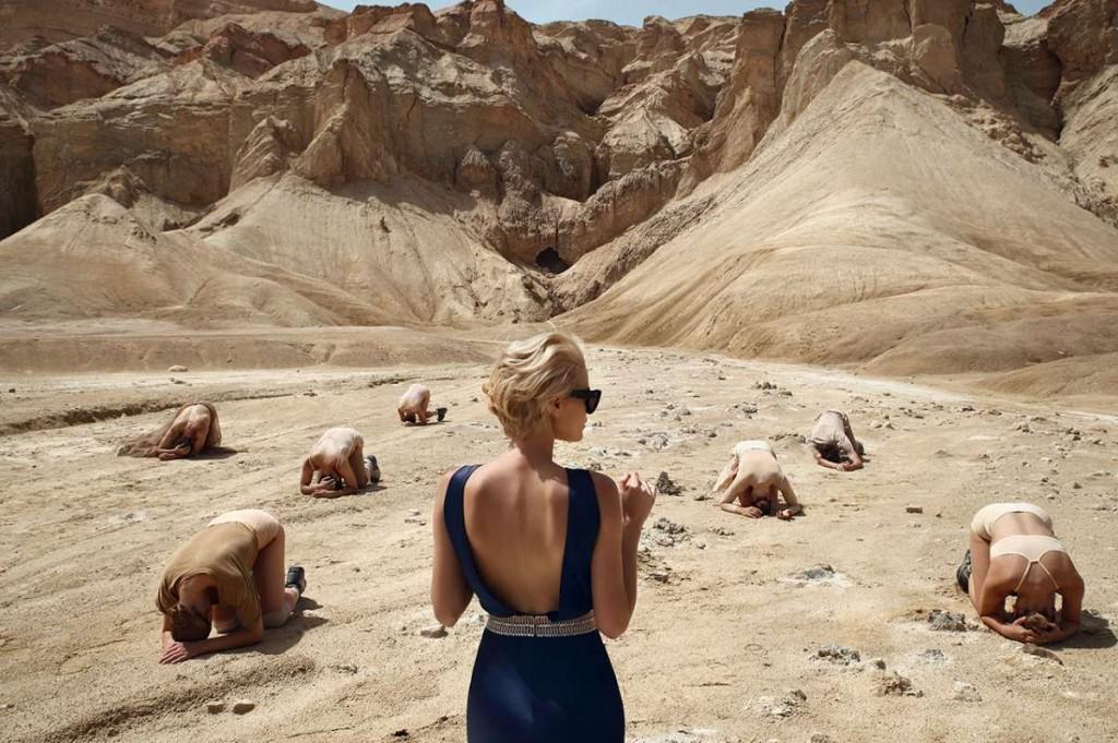 משכית הר סדום מתוך התערוכה צילום אייל נבו -שלב אנאלי-