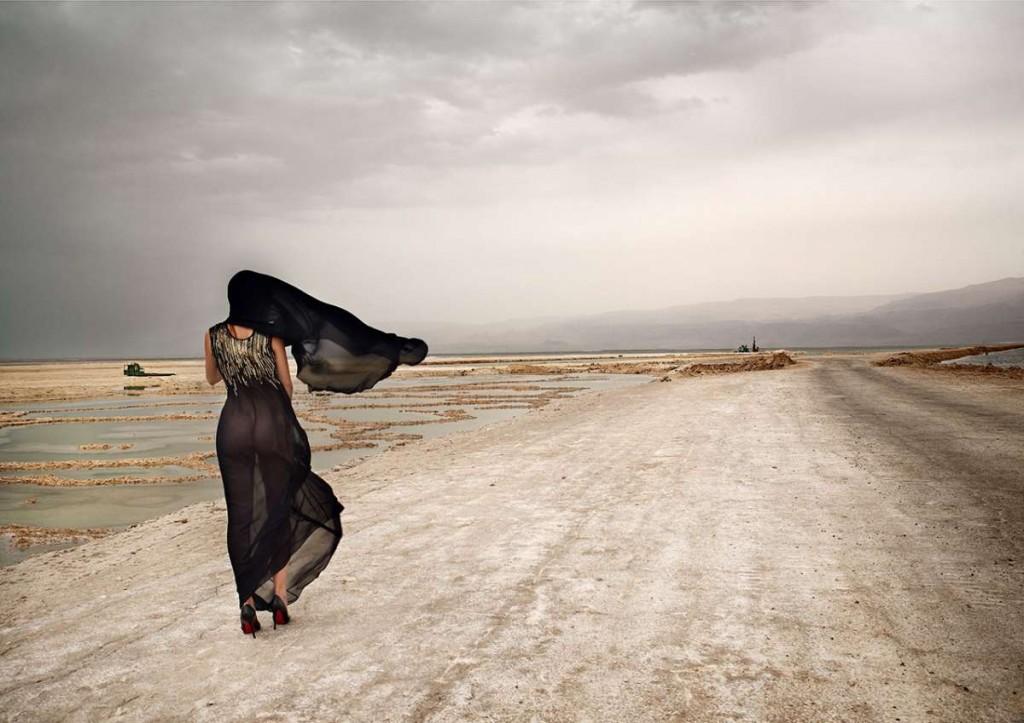 משכית הר סדום מתוך התערוכה צילום אייל נבו -במבט לאחור-