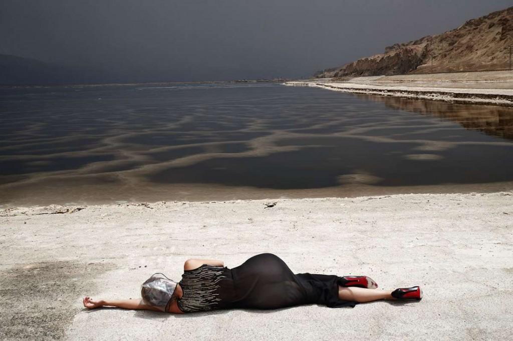 משכית הר סדום מתוך התערוכה צילום אייל נבו -אני מאחורייך-