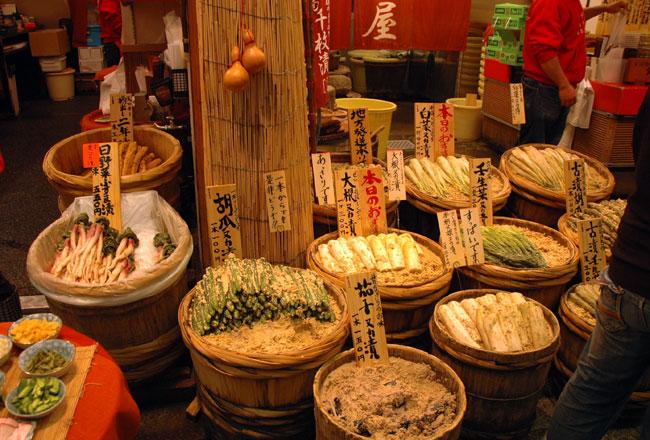 שוק Nishiki בקיוטו