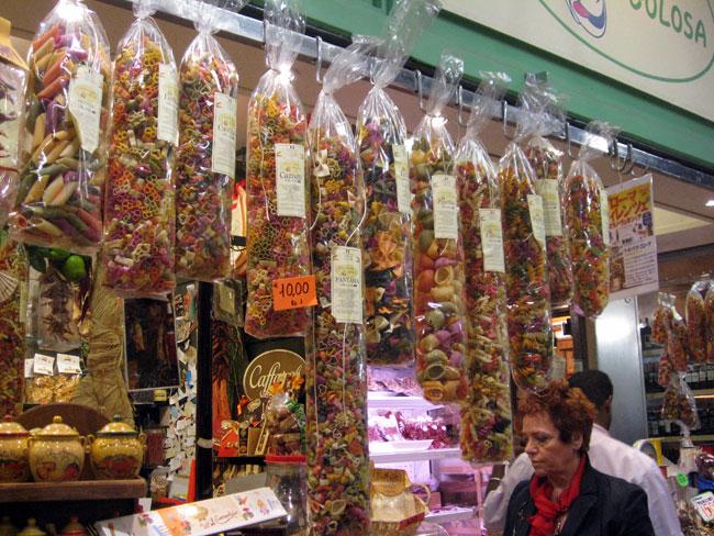 שוק סן לורנצו San Lorenzo Mercato בפירנצה