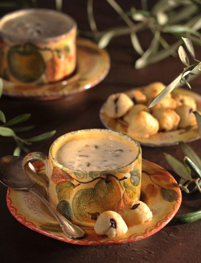 מרק זיתים ועוגיות זיתים אלינוער רבין