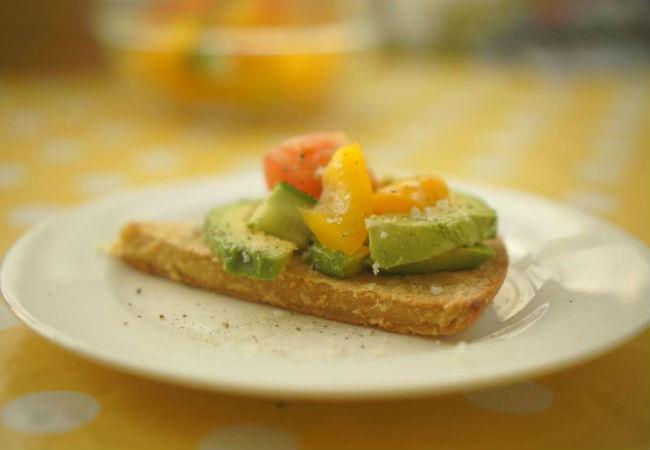 הצעת נשנוש מהמטבח של מירב גביש (צילום: מירב גביש)