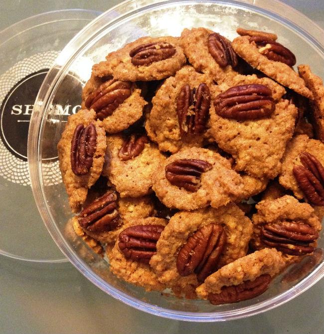 """עוגיות גרנולה ופקאן (צילום: יח""""צ)"""