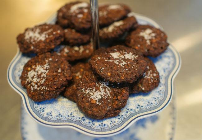 עוגיות שוקולד ושעועית טעימות בטירוף (צילום: עדי הלמן)