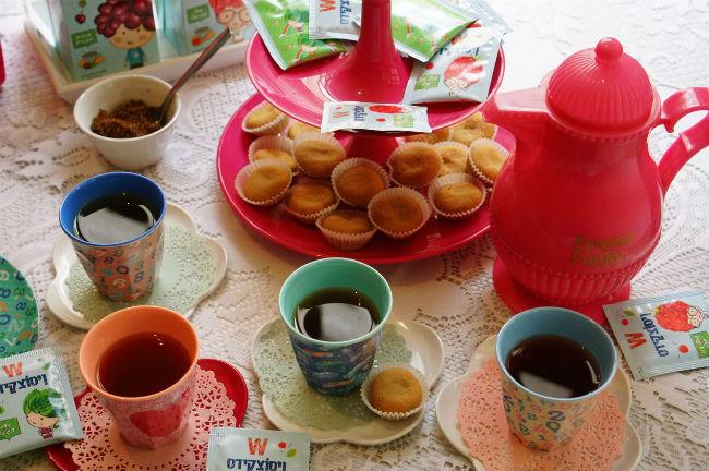 ויסוצקידס מסיבת תה. צילום: מירב גביש