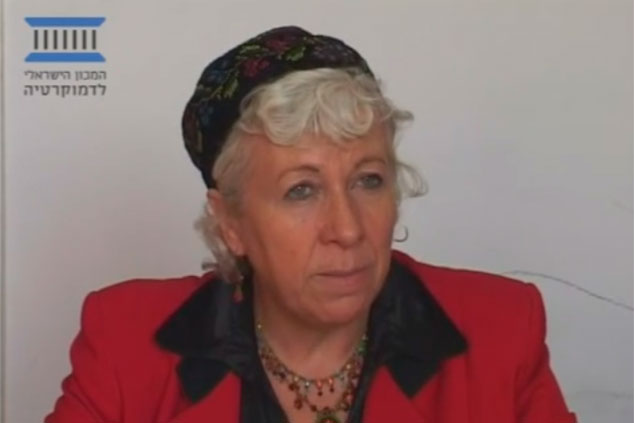 """ד""""ר חנה קהת (צילום מתוך יוטיוב)"""