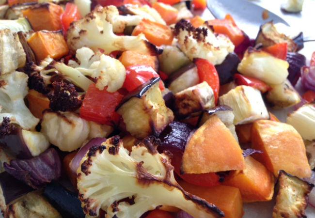 ירקות קלויים של מיה