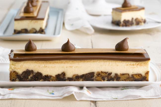 עוגת גבינה של רולדין. צ'נקי צ'יז. צילום: רונן מנגן