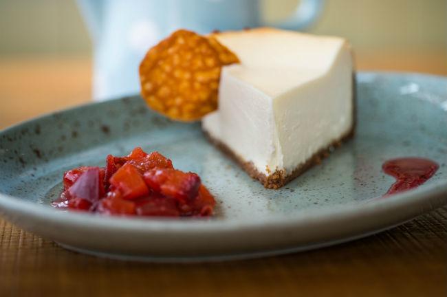 עוגת גבינה של מסעדת סילו. צילום: יחצ