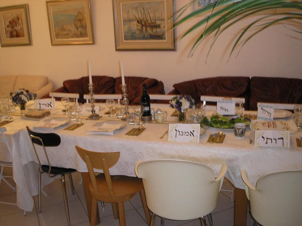 שולחן ערוך (צילום: דרור אבי)