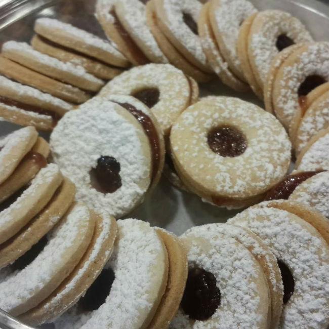 עוגיות במילוי ריבה (צילום באדיבות בית הלחם)