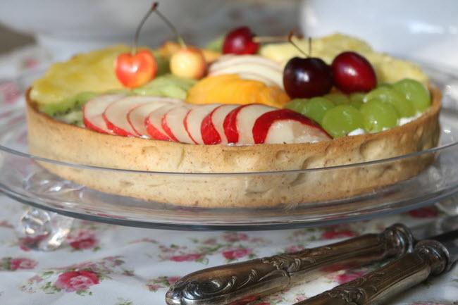 טארט גבינות ופירות קיץ שרון&רנה