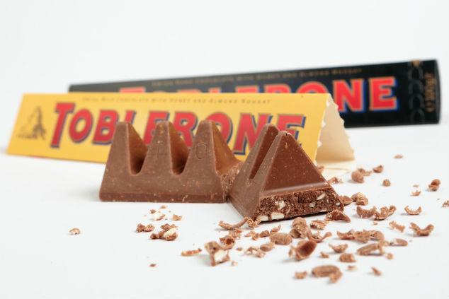 טובלרון - שוקולד עם פטנט רשום על שמו (צילום: שאטרסטוק)
