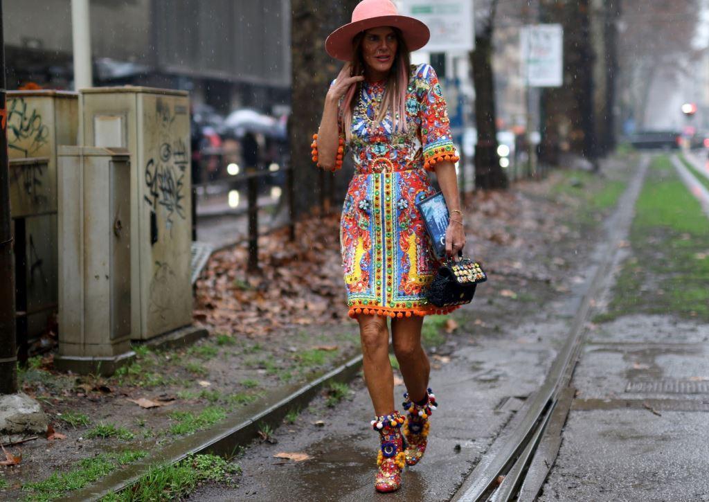 Anna Dello Russo ,The StreetVibe אסף ליברפרוינד