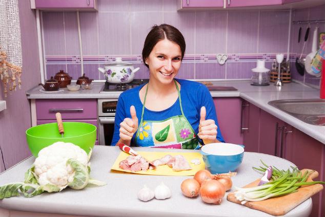 לחזור ליהנות במטבח (צילום: שאטרסטוק)
