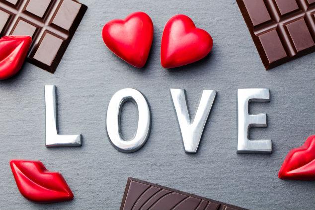 שוקולד זה אהבה (צילום: שאטרסטוק)