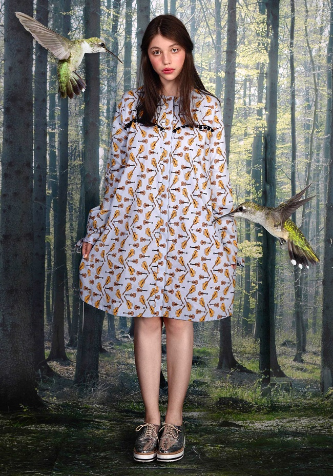 שמלת טריו ורוד 760 שקלים