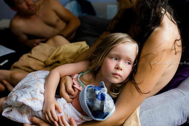 תחרות צילומי לידה ילדה