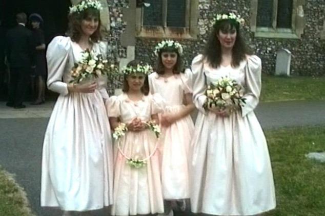 קייט ופיפה בחתונה