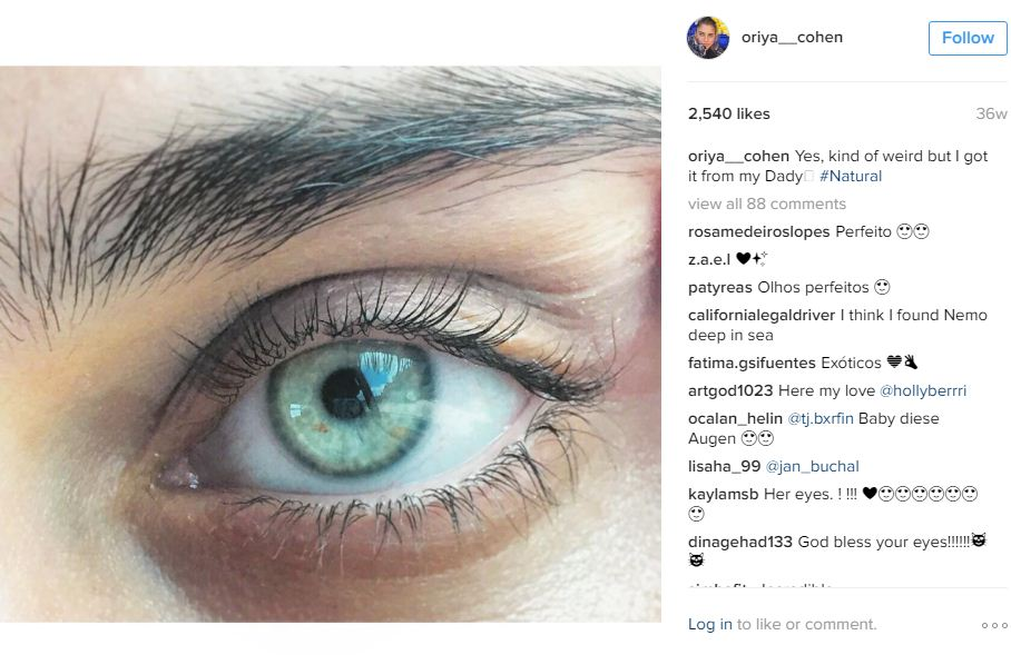 העין של אוריה כהן
