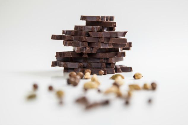 שוקולד חברתי מפורר
