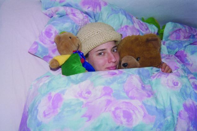 דפנה מאיר ז''ל במיטתה