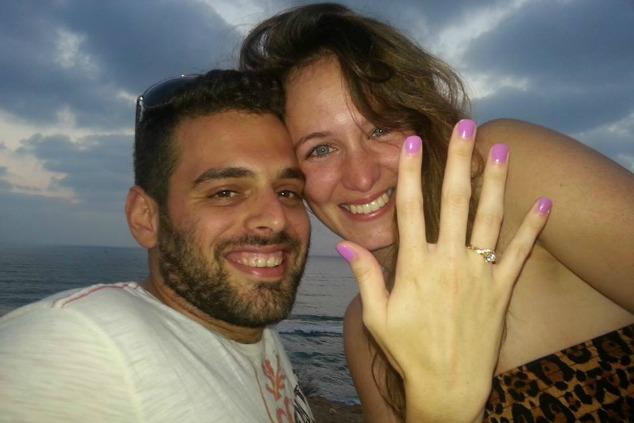 שירלי טמיר ובעלה