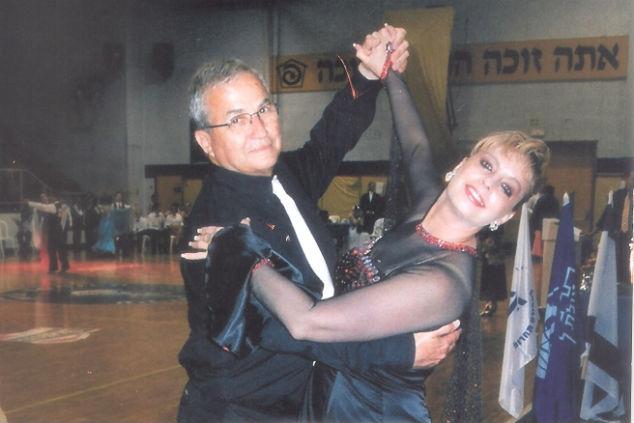 """אילנה אורן בתקופת הריקודים הסלוניים עם ישראל ווג ז""""ל – זוג בחיים ובריקוד"""