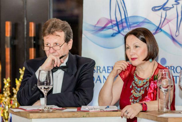 ויקטוריה וויקטור מסלוב שופטים רשמיים בתחרויות