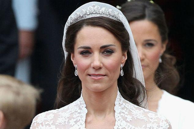הדוכסית קייט מידלטון ביום חתונתה עם הנסיך וויליאם Photo by Chris Jackson/Getty Images