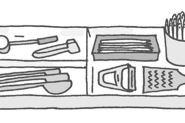 כלים במטבח