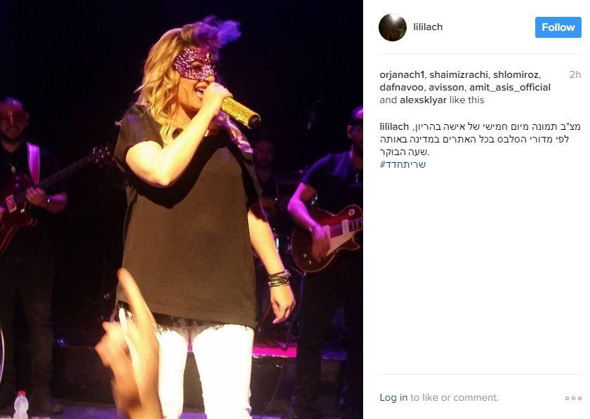 שרית חדד בהופעה