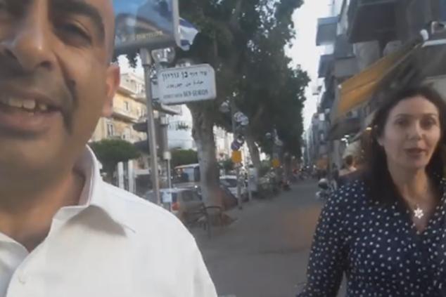 ברק כהן תוקף מילולית את מירי רגב (צילום מסך מפייסבוק)