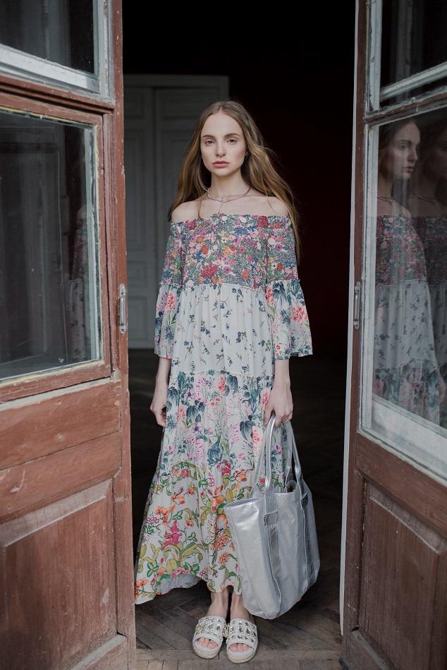 לארה רוסנובסקי, קמפיין אביב קיץ 2017, שמלה 1290שח  צילום ליה גולדמן (3) (Custom)