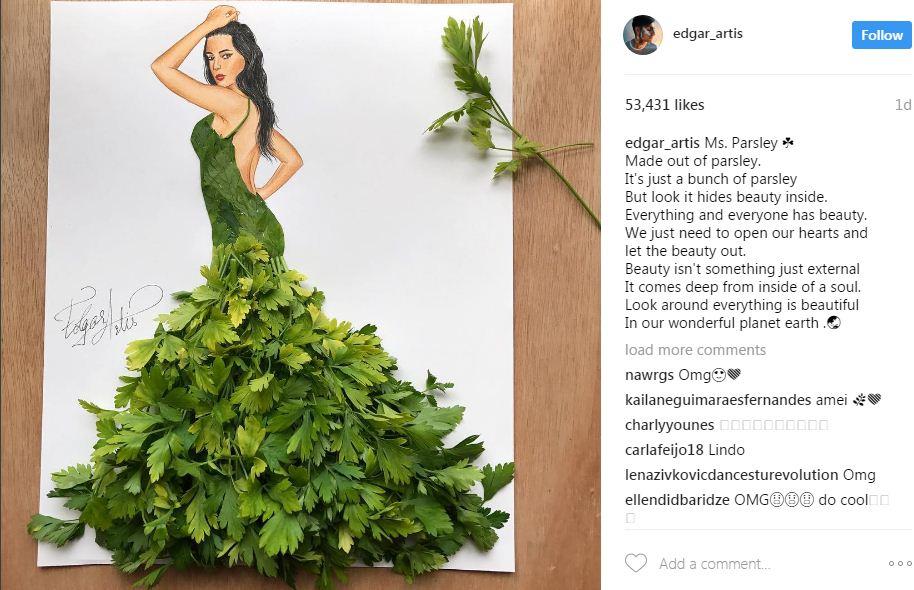 שמלת פטרוזיליה