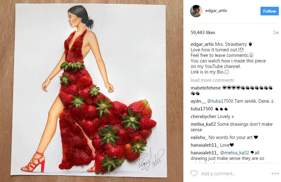 שמלת תותים