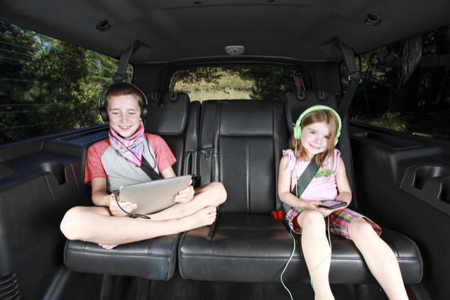 טלוויזיה גם בדרכים (צילום: שאטרסטוק)