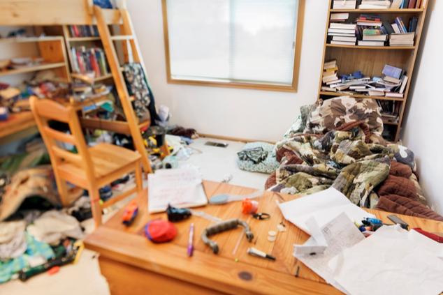 בית מבולגן בחופש (צילום: שאטרסטוק)