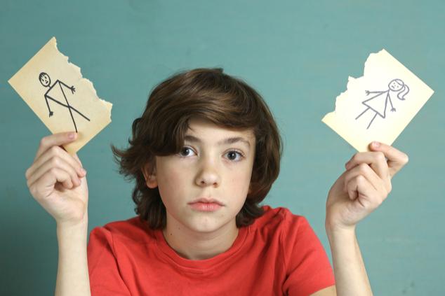 ילד גירושים (צילום: שאטרסטוק)