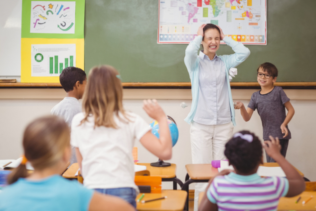 לא פשוט להיות מורה (צילום: שאטרסטוק)