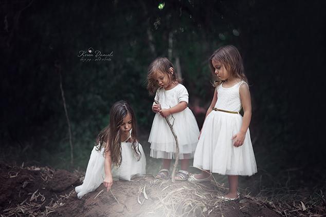 הבנות של קרן דניאלי (צילום: קרן דניאלי)