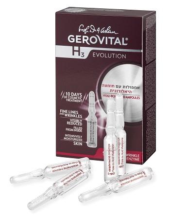 HYALURONIC ACID AMPOULES - GEROVITAL. 4צלם קיט גלסמן