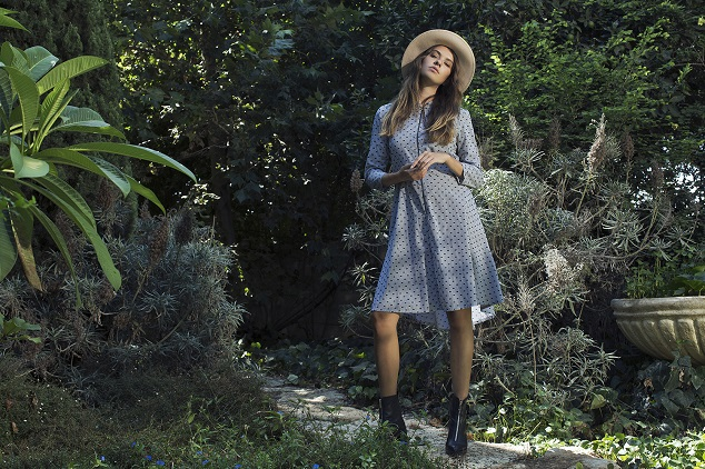 LIAH    שמלת אלואיז מחיר רגיל 620 שח מחיר אחרי 527 שח צילום מיכאל טופיול