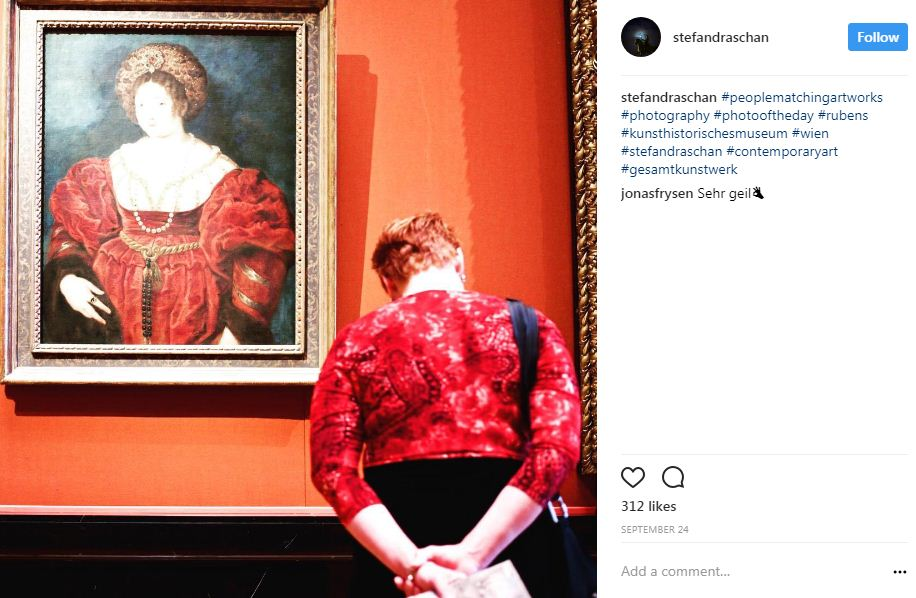 אדום במוזיאון