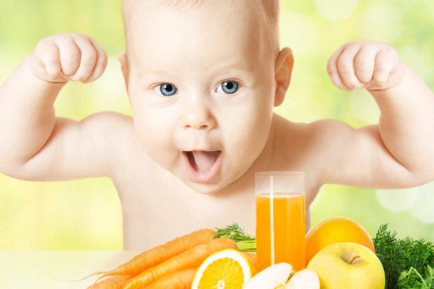 ויטמינים מחזקים תינוקות (צילום: שאטרסטוק)