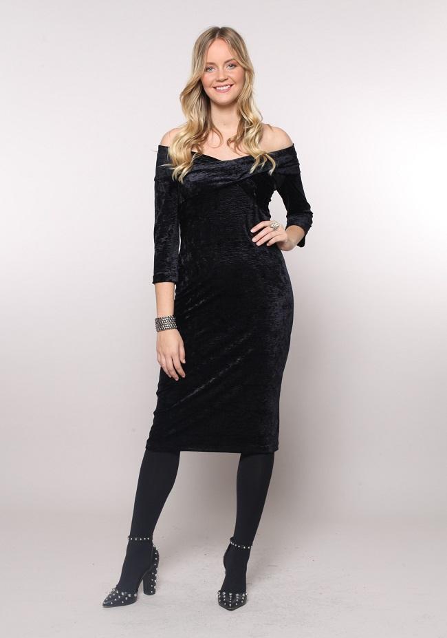 הגרה קולקציית חורף 2018 שמלת אביגיל 399 שח . טווח מידות 40-46 צלם - גיא זלצר
