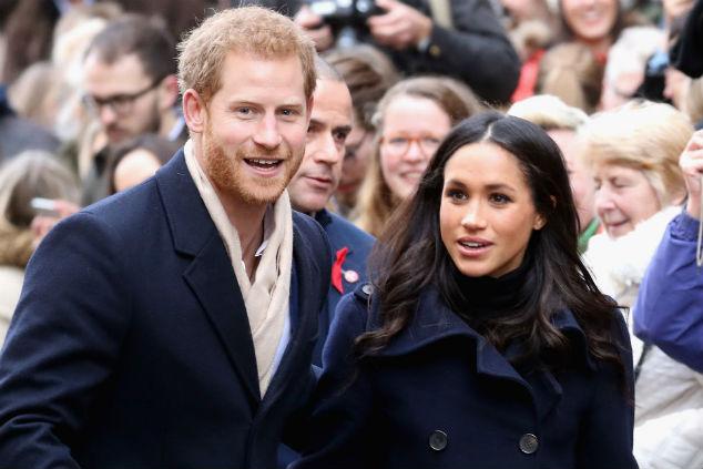 הנסיך הארי וארוסתו Chris Jackson/Getty Images