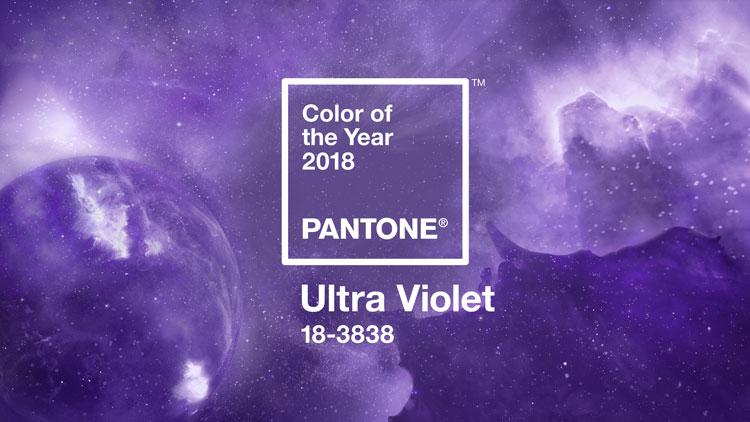 Ultra Violet צבע השנה של פנטון מתוך האתר